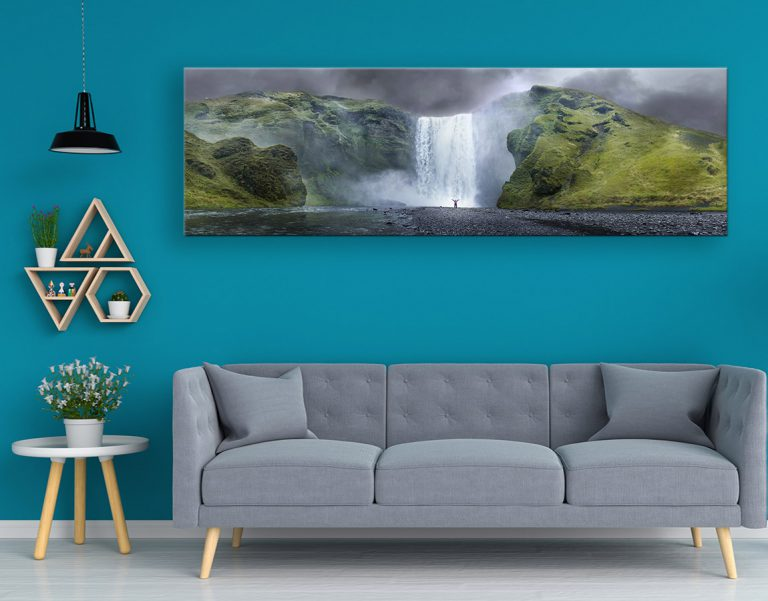 buy fabulous wall art of A perfect view in xxl canvas prints