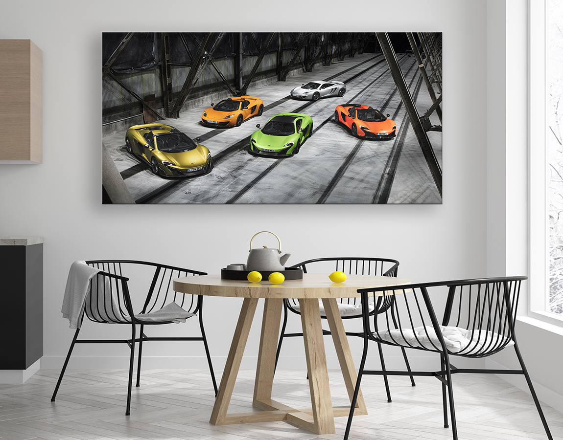 McLarens parked up